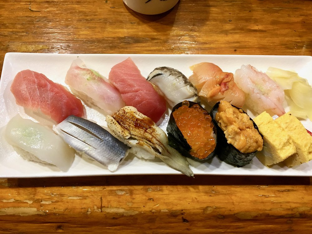 Only $20! Really great quality sushi too!