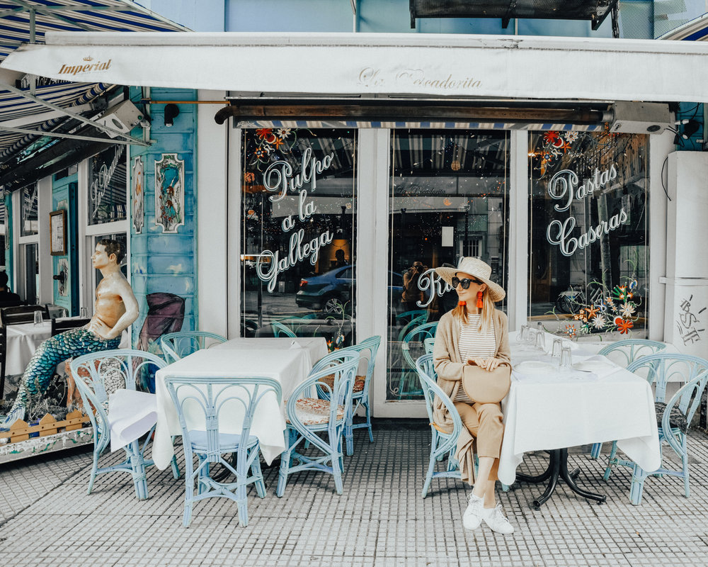 The cutest cafe ever in Palermo Hollywood (across from Hotel Clasico)