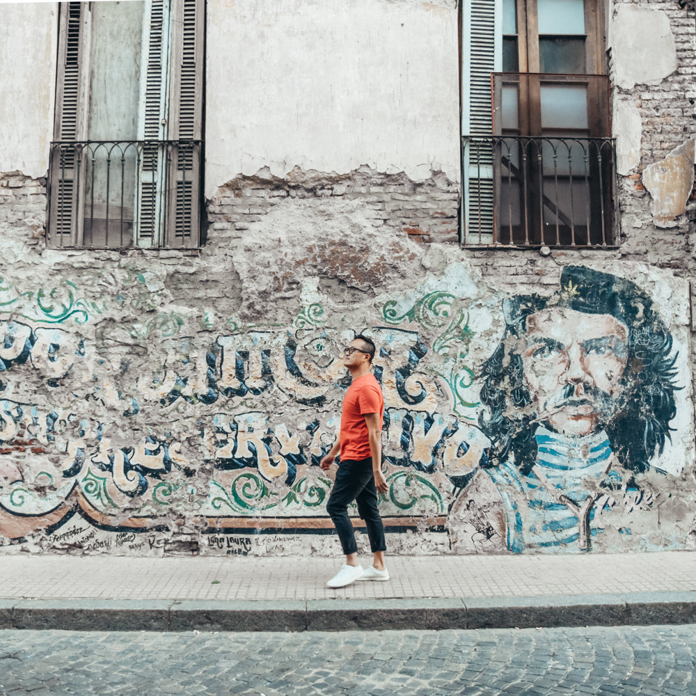 Wandering the streets of San Telmo