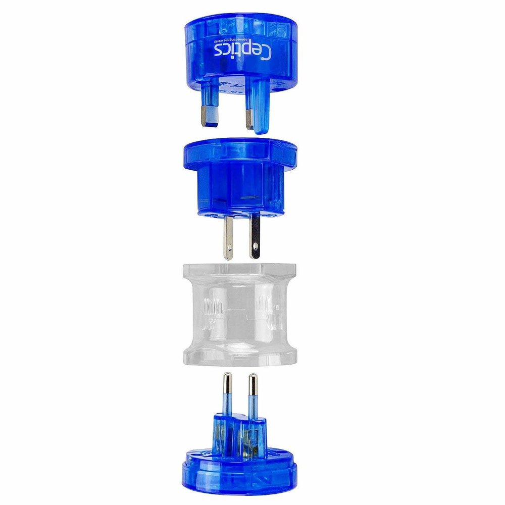 ceptics travel adapter