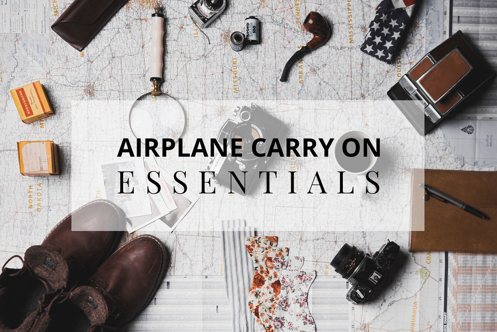 airplane carry on packing list