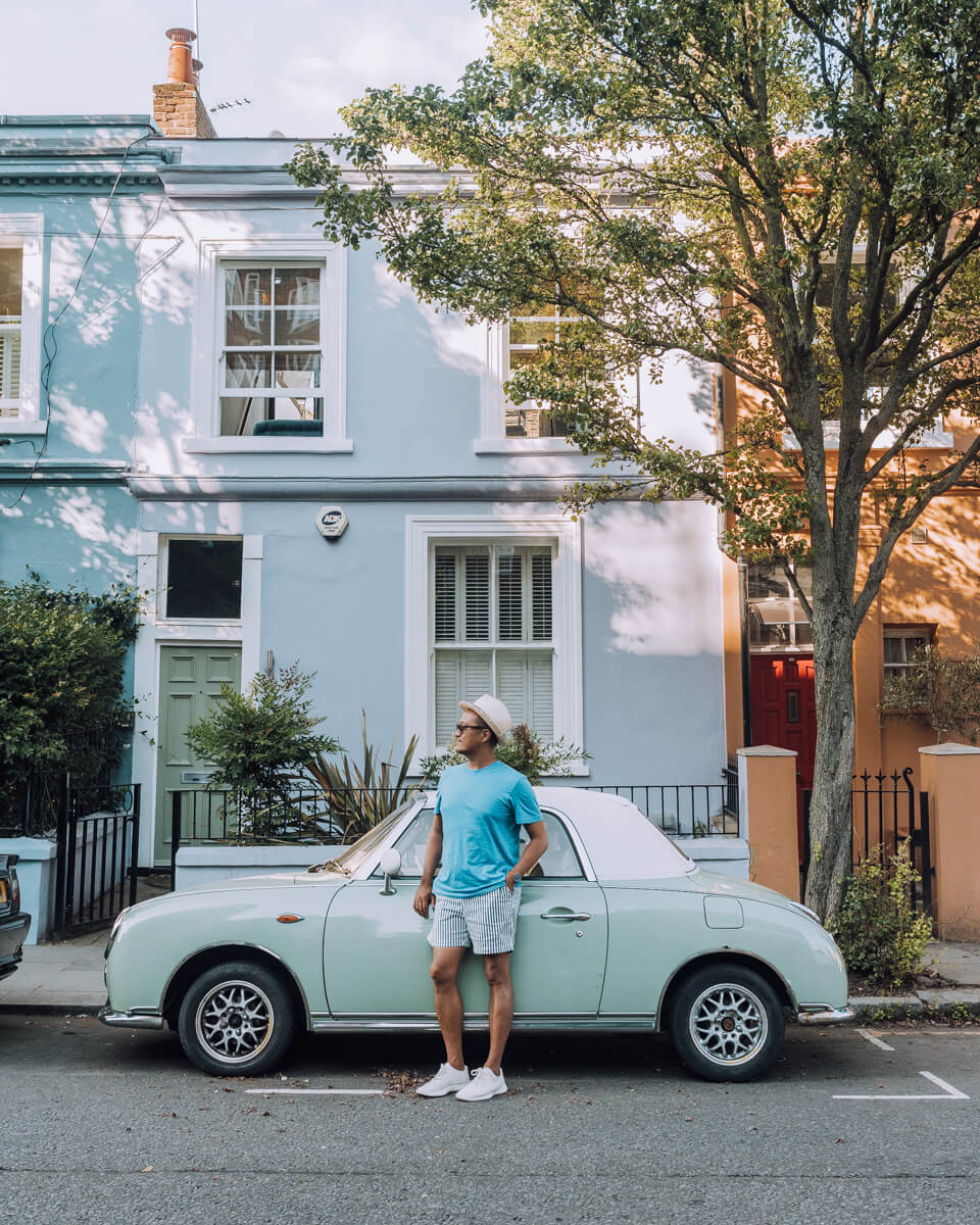 London Vintage Car