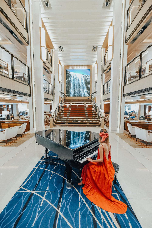 Viking Cruise Piano