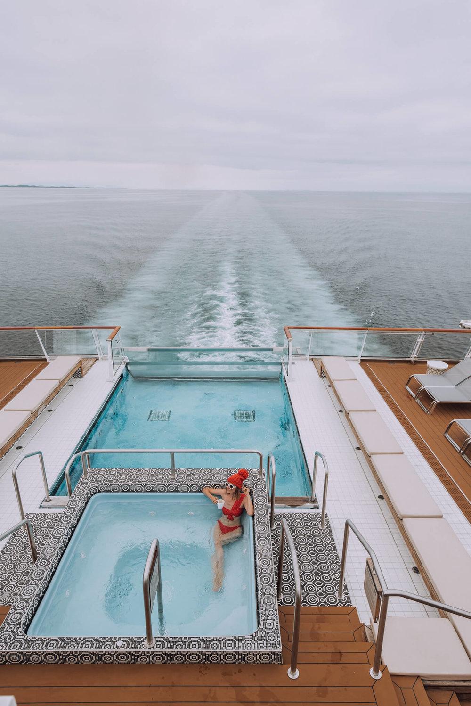 Viking Cruise Hot Tub