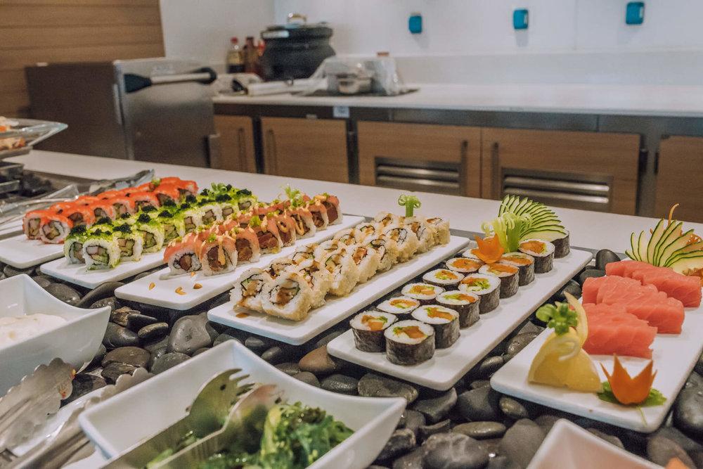 viking cruise sushi