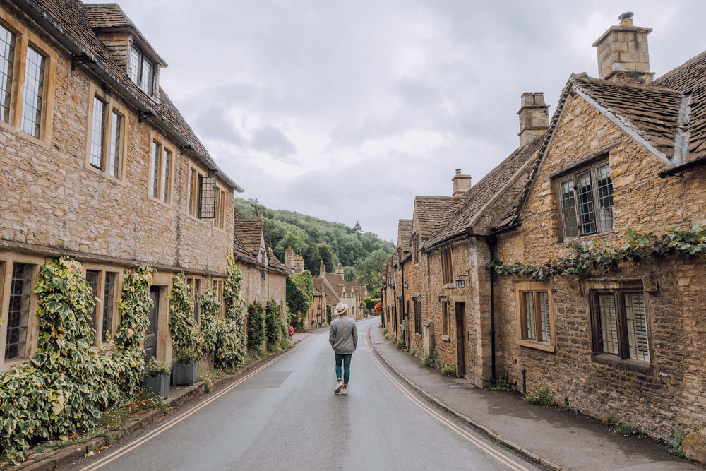 The main street of Castle Combe