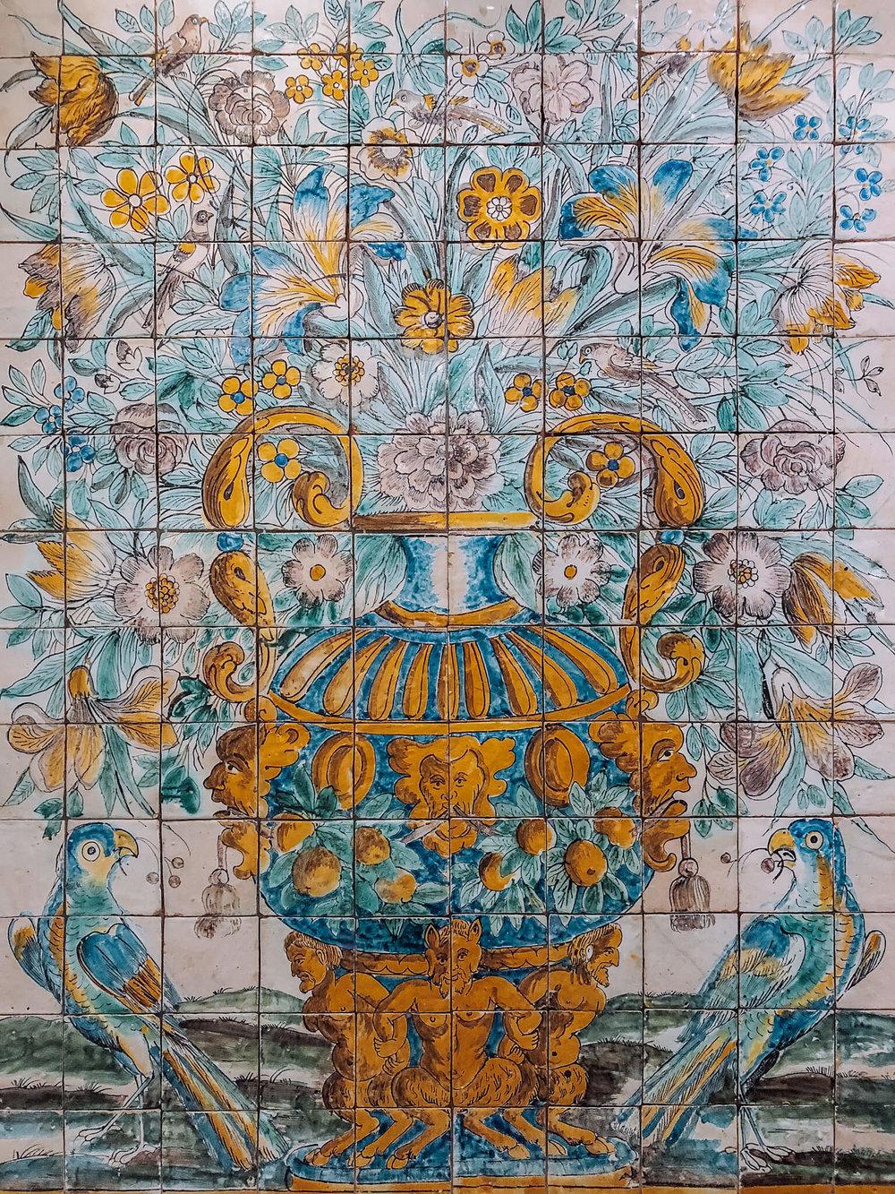National Azulejo tile Museum lisbon