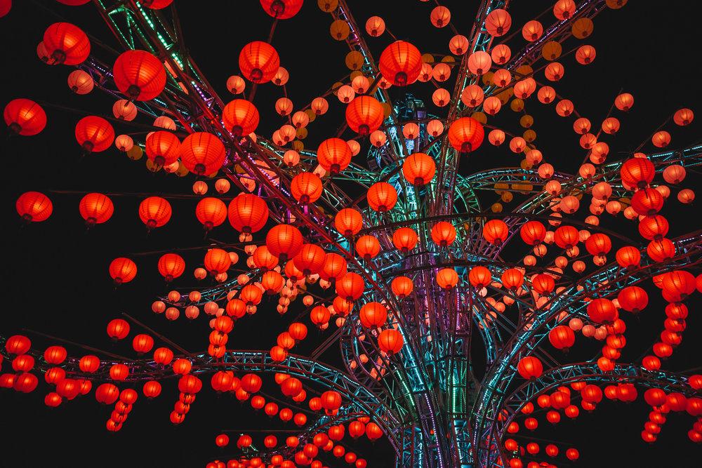 lantern festival chia yi