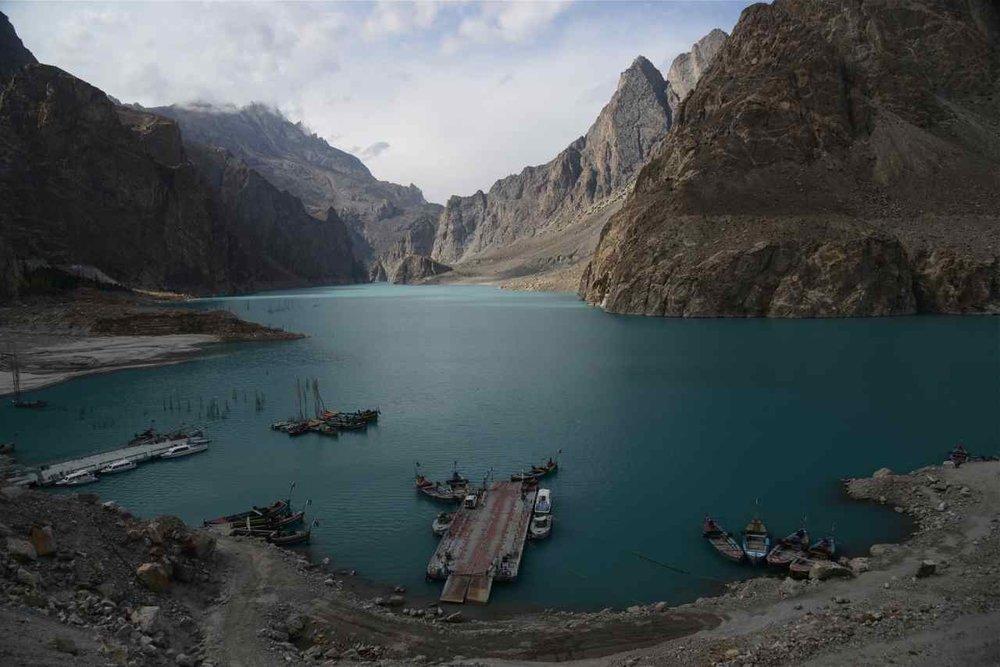 Lac d'Attabad (Haut Hunza)