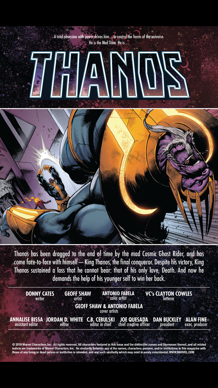 Thanos #15 review — You Don't Read Comics