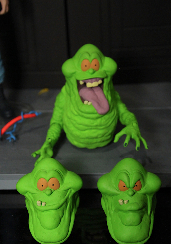 Ghostbusters Select Slimer- Image via Toy News International