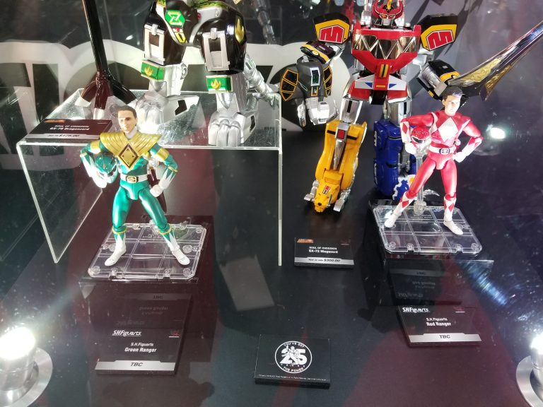 SH Figuarts Green and Red Power Rangers- Image via ScienceFiction.Com