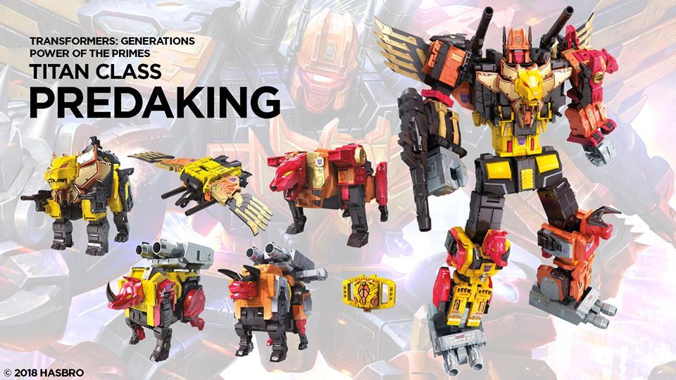 Power of the Primes Titan Class Predaking- Image via Hasbro