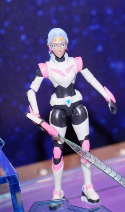 Voltron Legendary Defender Allura Figure- Image via Toyark