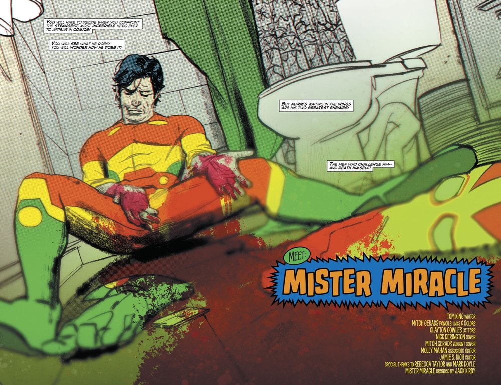 Mister Miracle Vol 4 #1