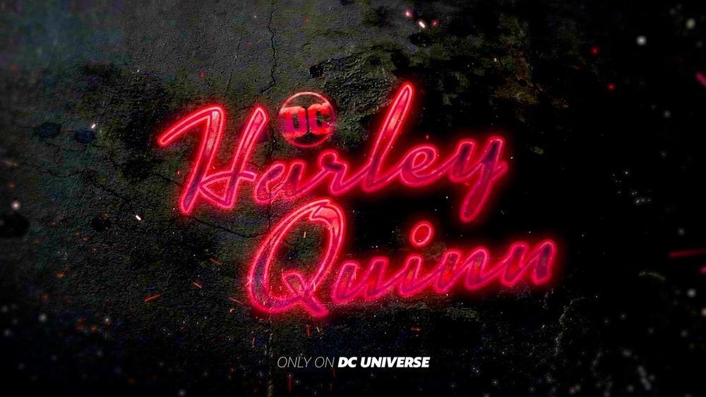 Harley Quinn Logo via DC Comics.