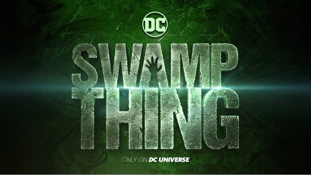 Swamp Thing Logo via DC Comics.