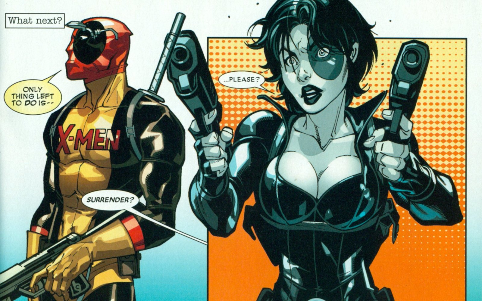 domino and deadpool relationship