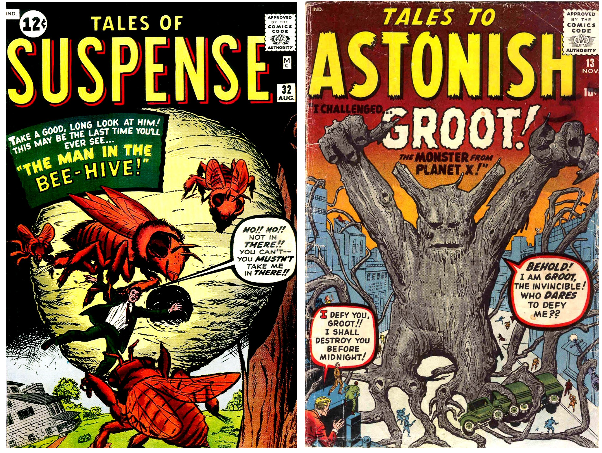Oh. Hi, Groot. Fancy seeing you here in 1960. Hope you don't mind waiting another 46 years before becoming relevant.
