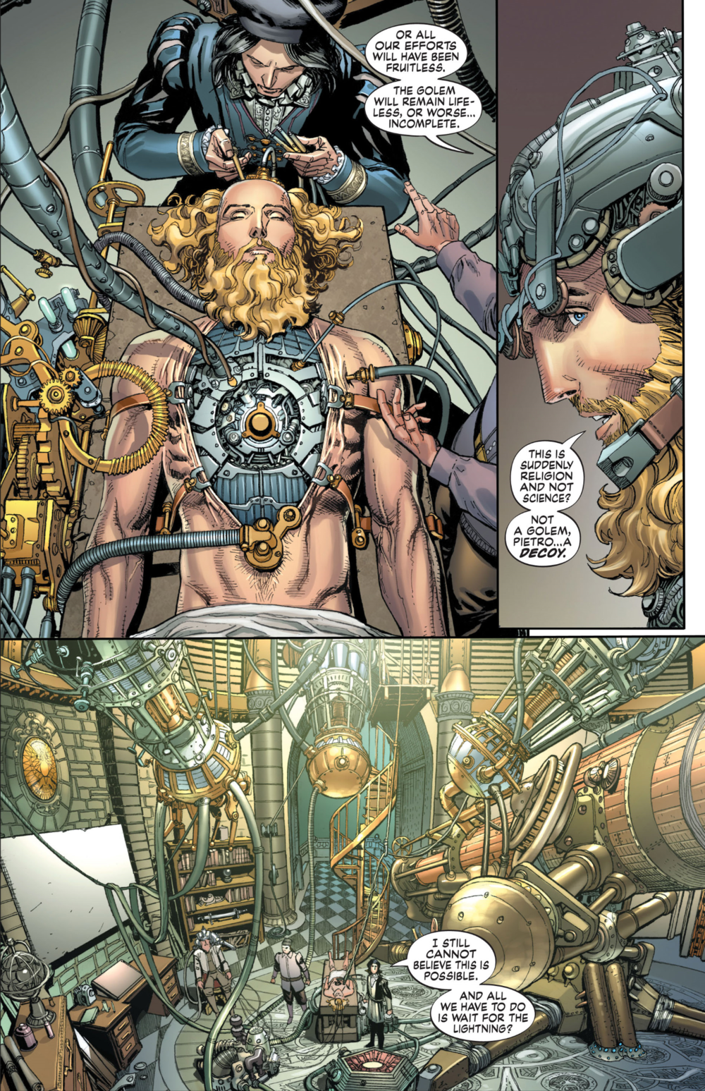 S.H.I.E.L.D. #2, art by Dustin Weaver and Sonia Oback