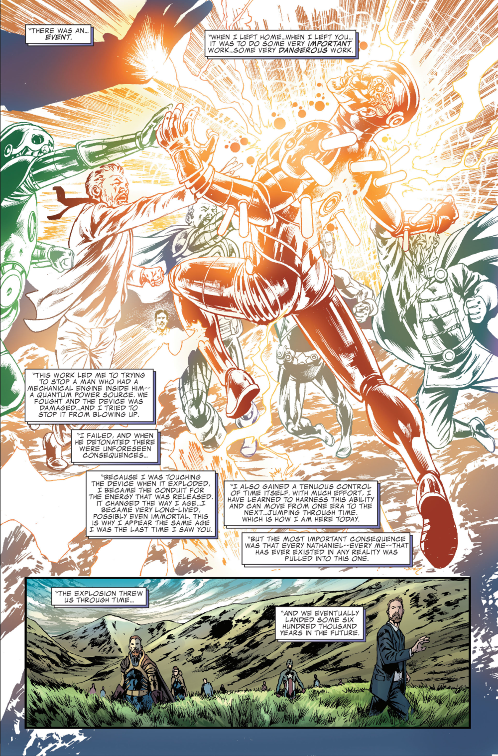 Fantastic Four #581, art by Neil Edwards, Paul Neary, and Paul Mounts