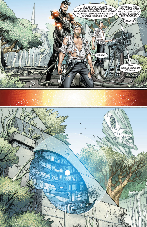 S.H.I.E.L.D. #6, by Dustin Weaver and Christina Strain