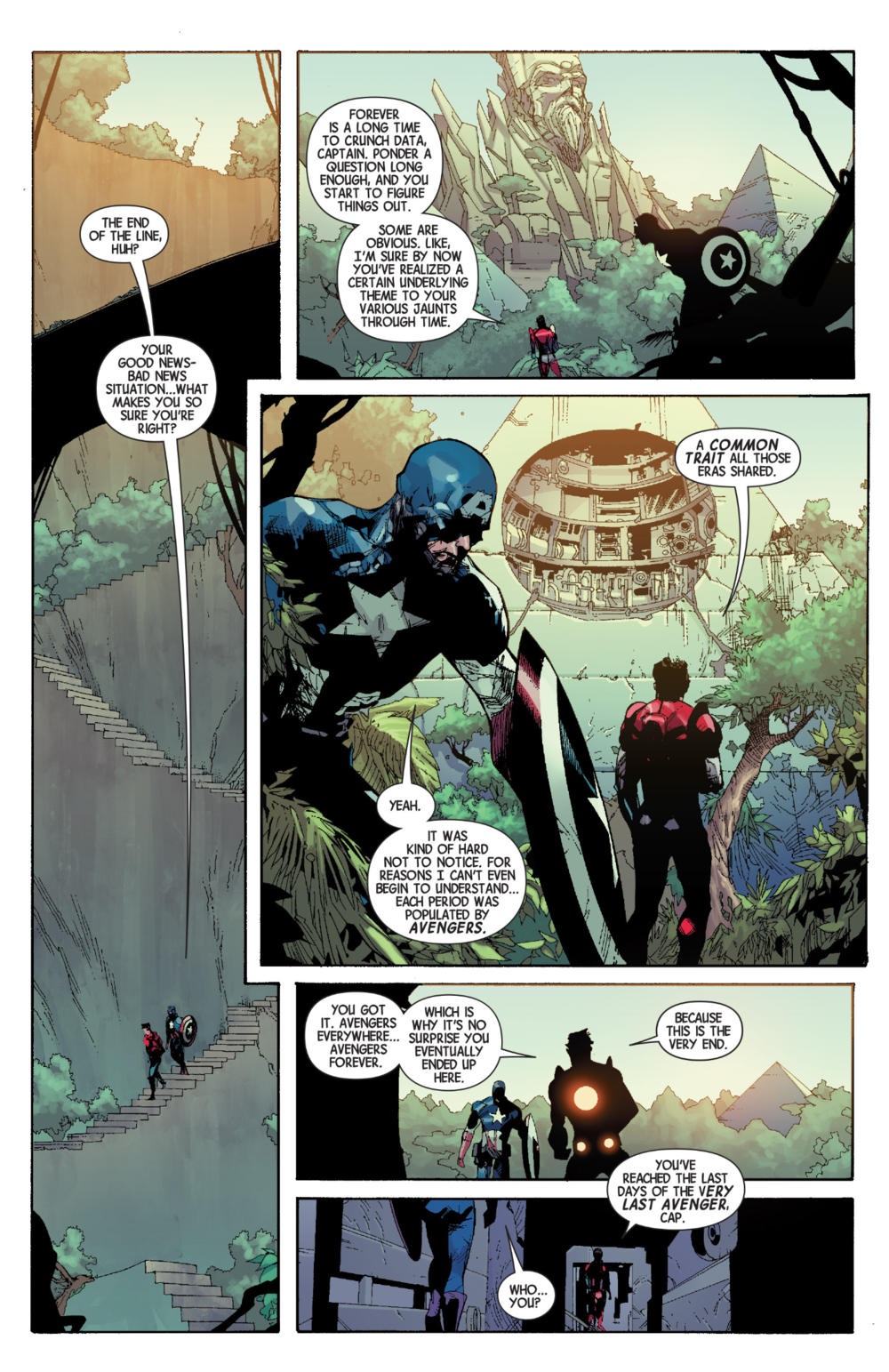 Avengers #34, art by Leinil Yu, Gerry Alanguilan, Sunny Gho, and Matt Milla