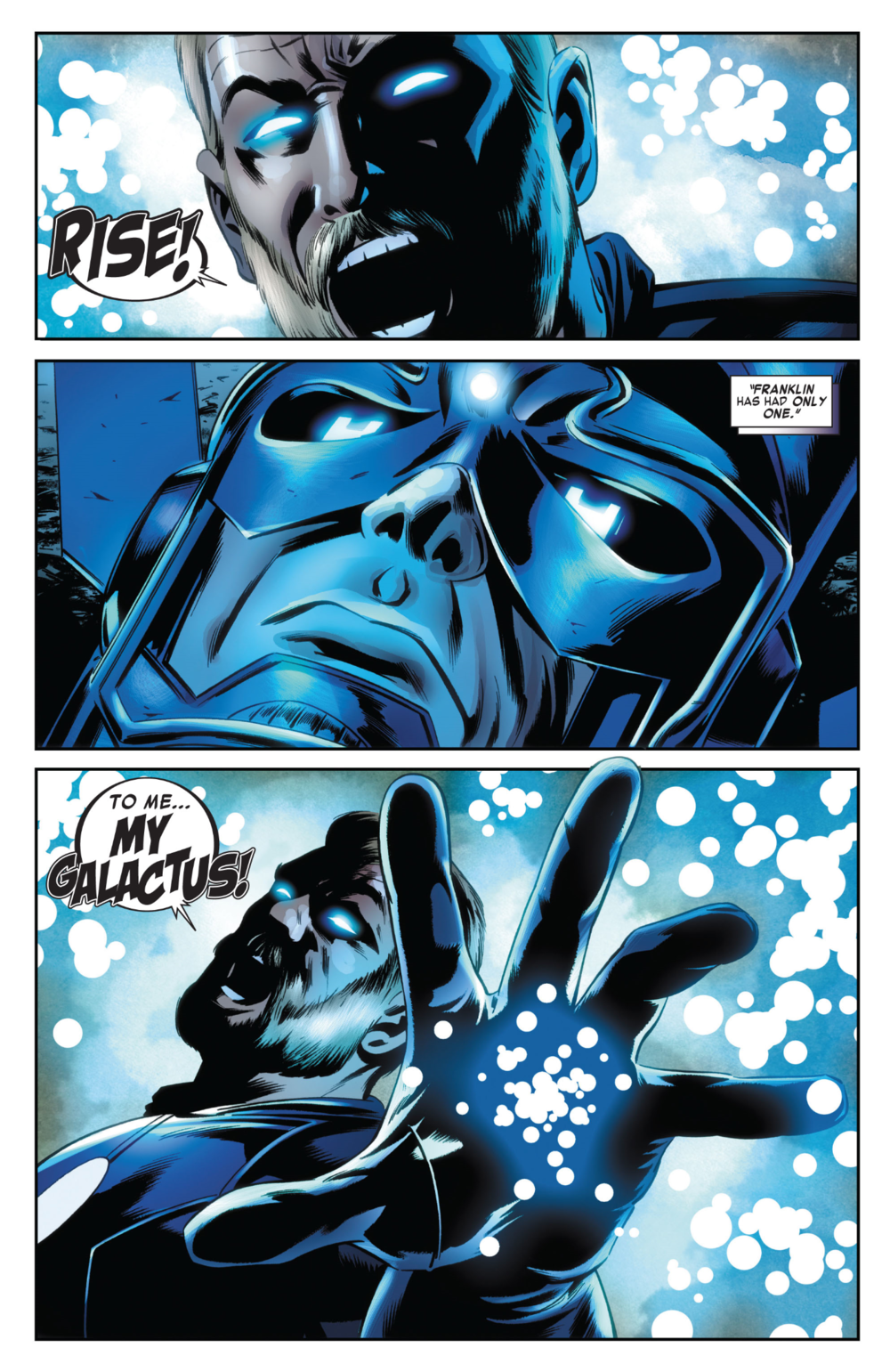 Fantastic Four #604, art by Steve Epting, Rick Maygar, and Paul Mounts