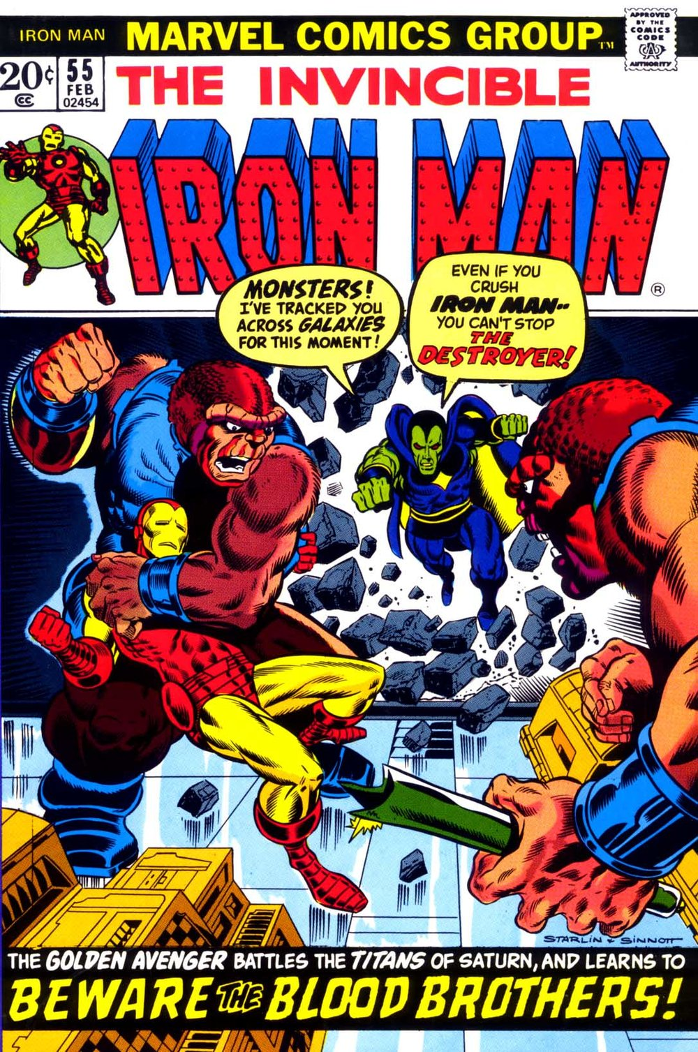 Guest-starring Drax the Destroyer as the Kool-Aid Man!