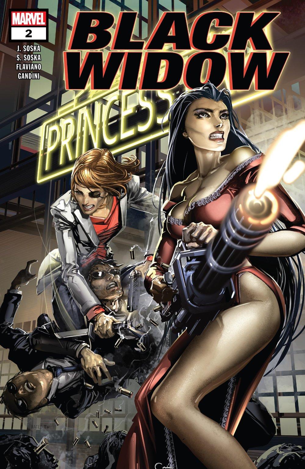 Black Widow Porn Video black widow #2 // review — you don't read comics