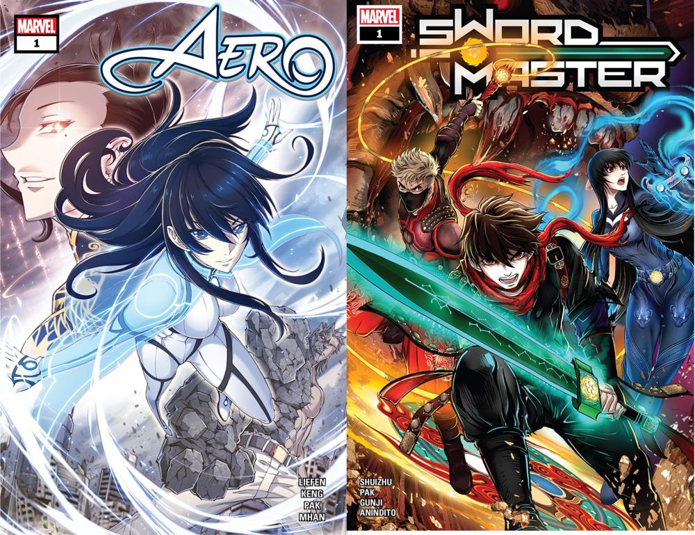 Sword Master #1 & Aero #1 // Review — You Don't Read Comics