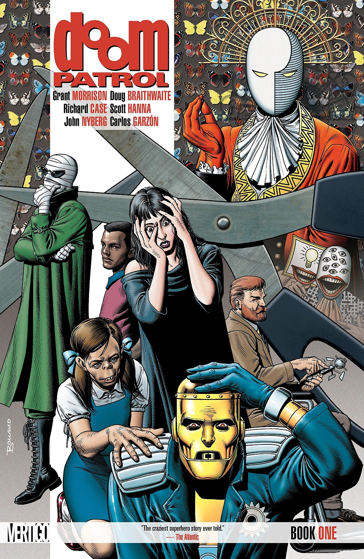 Let S Talk About Grant Morrison S Doom Patrol You Don T Read Comics