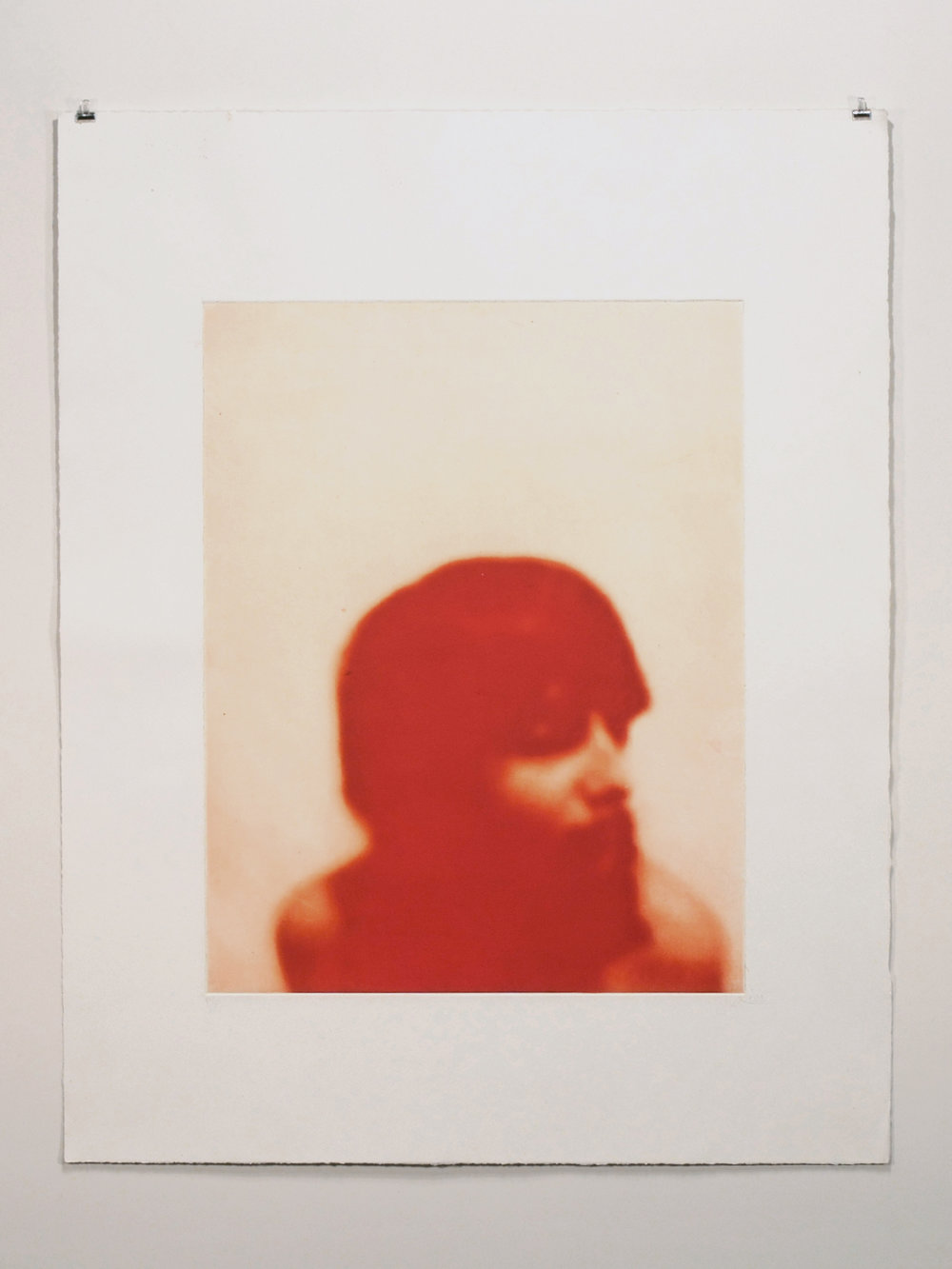 20 x 26 photogravure on Somerset Satin with gampi chine-collé