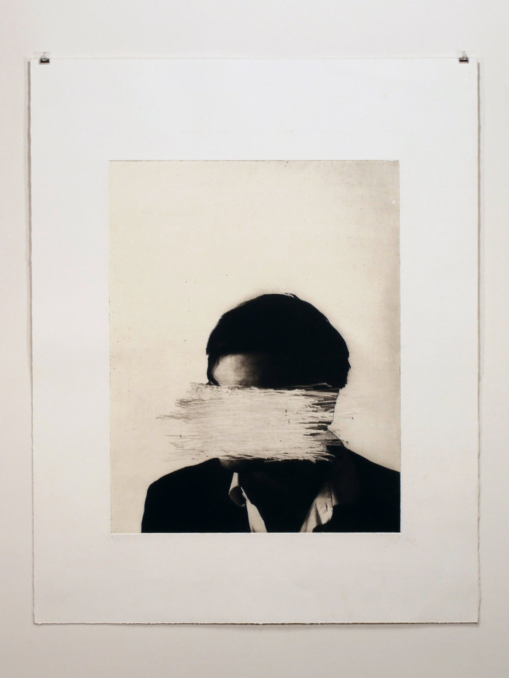 20 x 26 photogravure & drypoint on Somerset Satin with gampi chine-collé