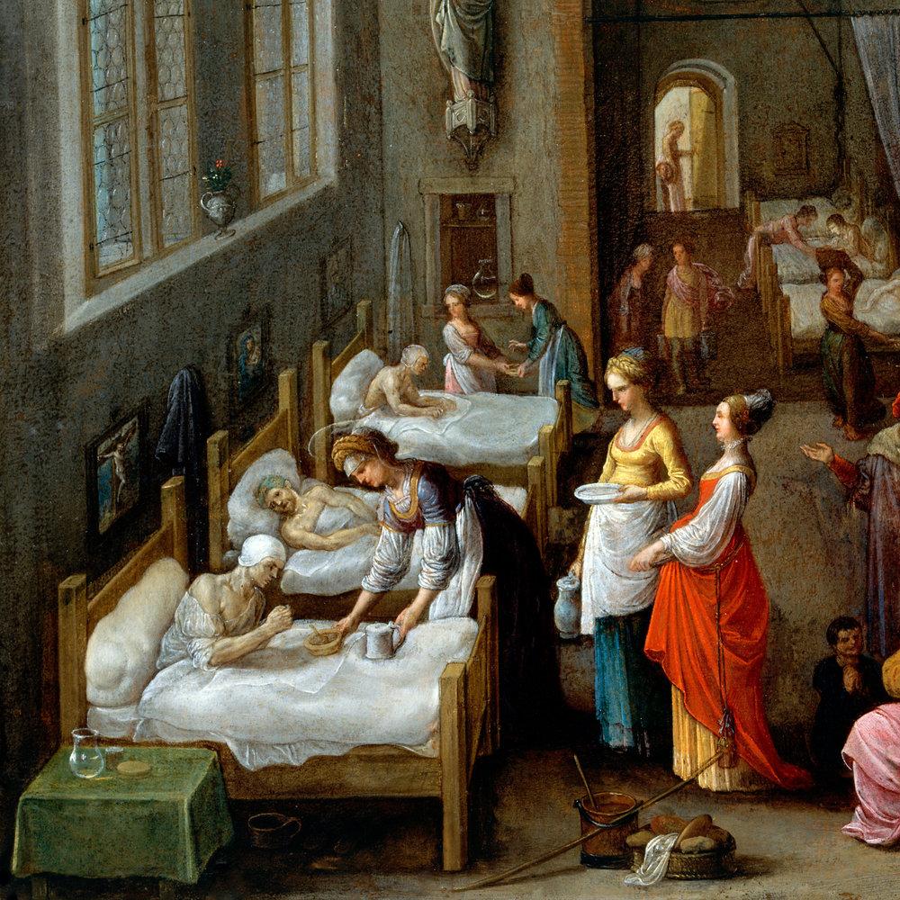 Elsheimer St Elizabeth Visiting a Hospital 1500 x 1500.jpg