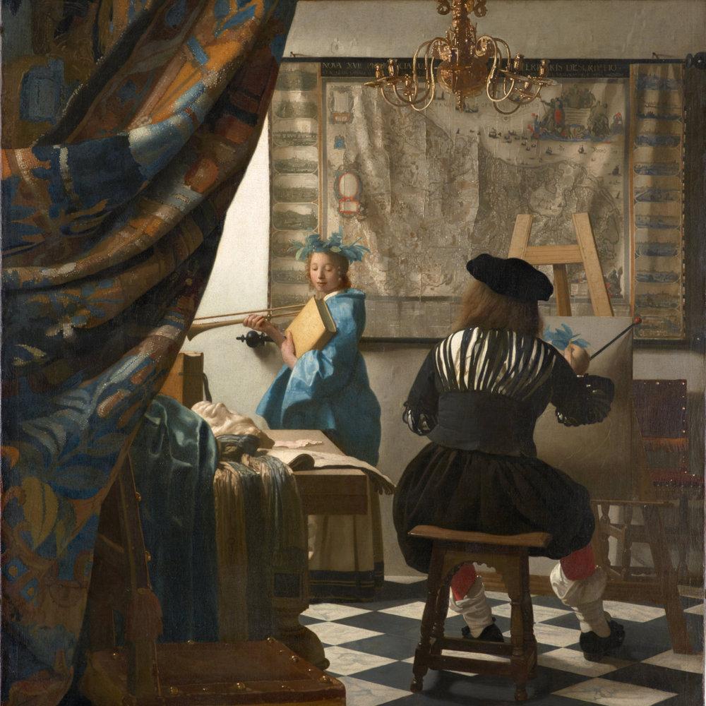 Johannes Vermeer, The Art of Painting (1665-1668)