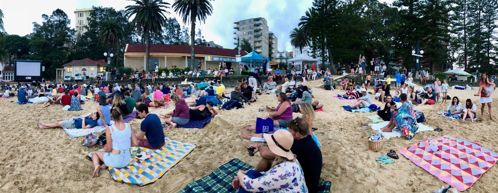Outdoor Movie Screening of A Plastic Ocean at Manly Cove