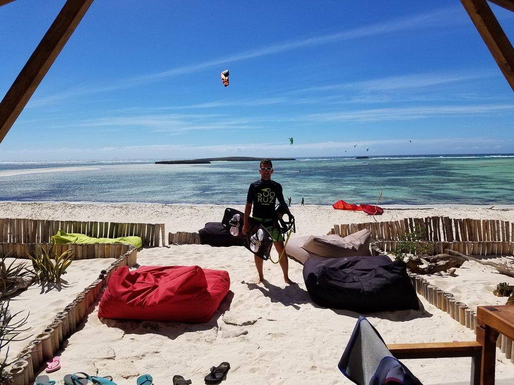 kitesurf madagascar sakalava diego hotel