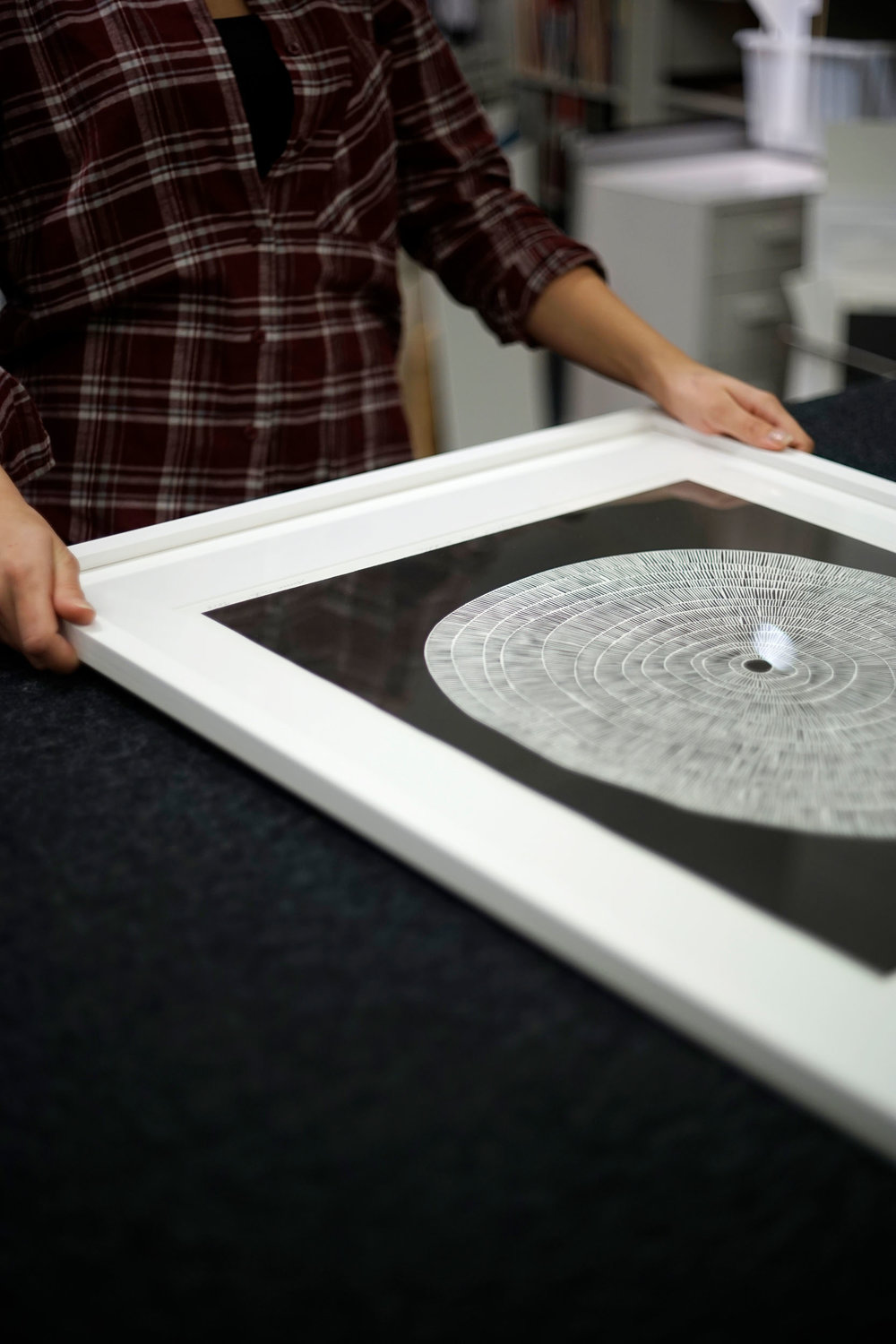 How to frame an art print