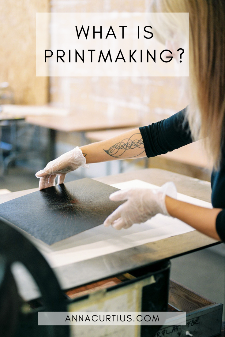 What is printmaking