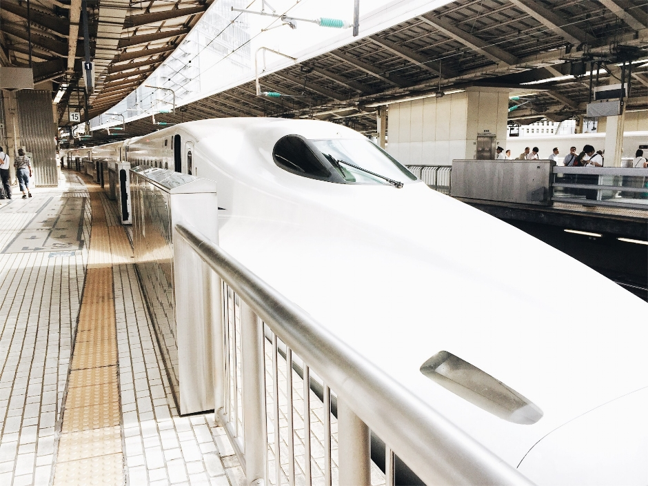 With JR Pass, you can travel on shinkansens for multiple times.