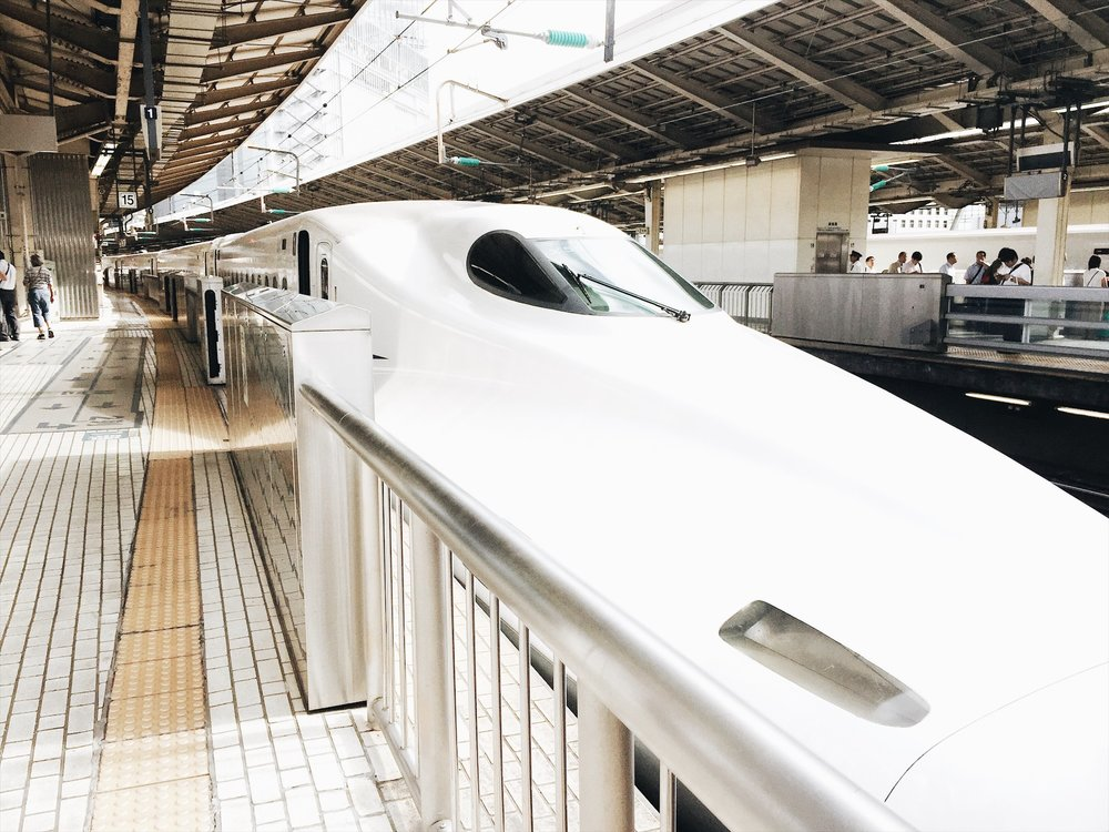 Japan first-timer: Shinkansen - Ruthvcp.com