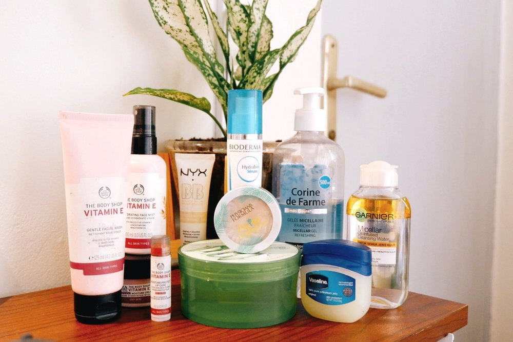 Beauty Products That Helped My Dry Skin Survive 2018 - By Ruthie