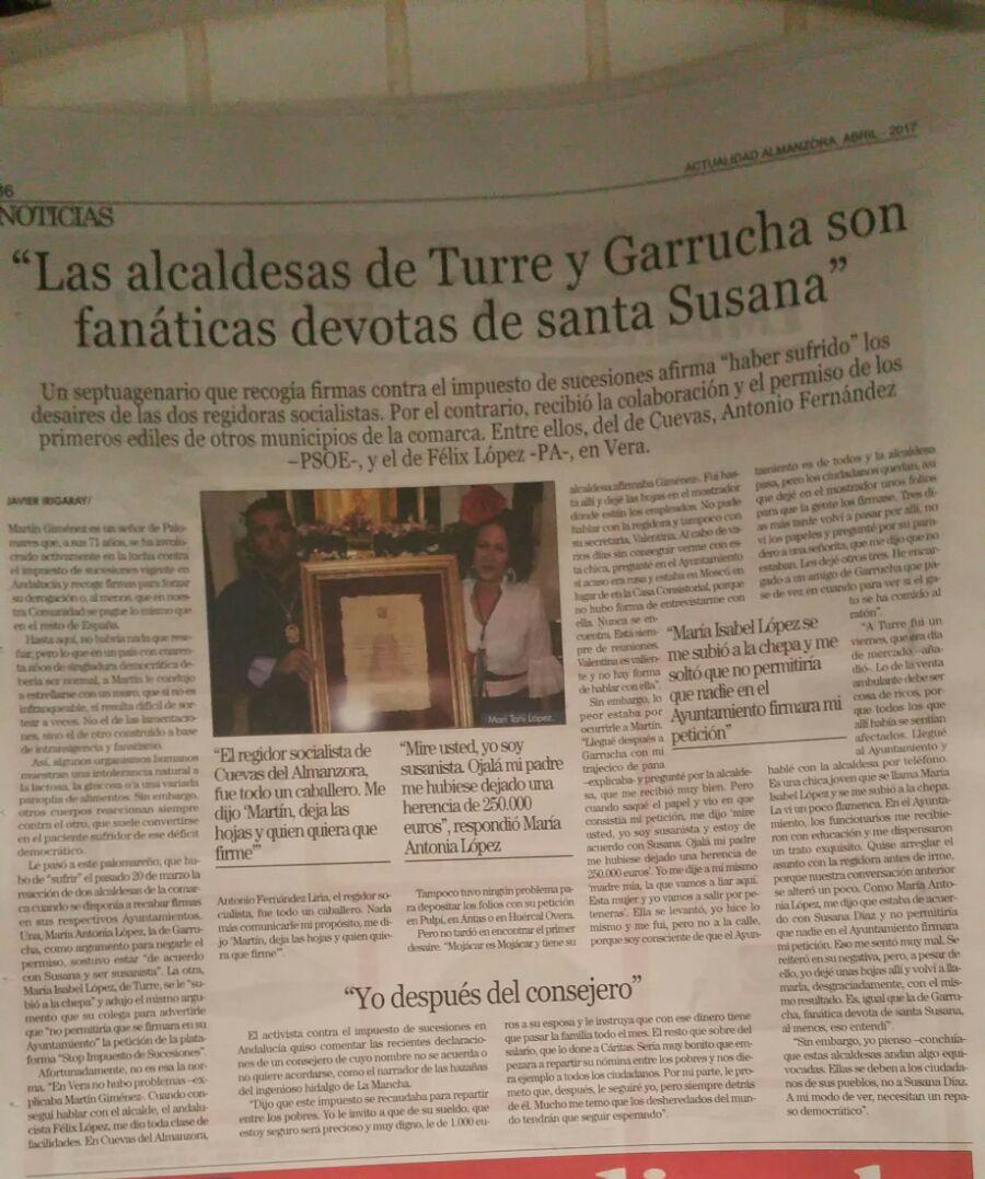 Fuente: Almanzora Actualidad - Levante Almeriense - Vera Comunicación