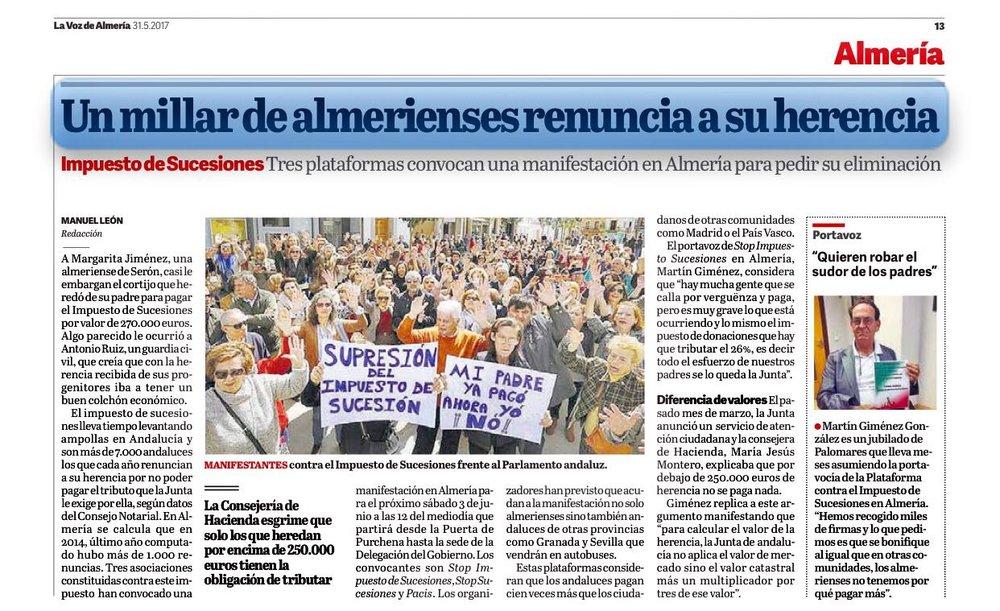 Fuente: La Voz de Almería