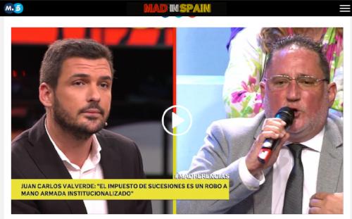 FUENTE: Telecinco - Mad in Spain: http://www.telecinco.es/madinspain/Juan-Carlos-Valverde-impuesto-sucesiones_2_2432355185.html