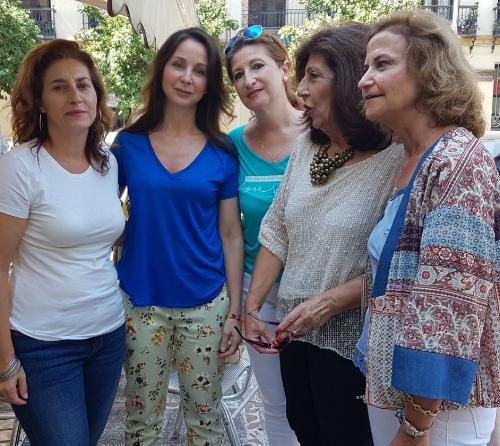Foto: Ilma. Sra. Alaya en un encuentro anterior con miembros de FENCIS