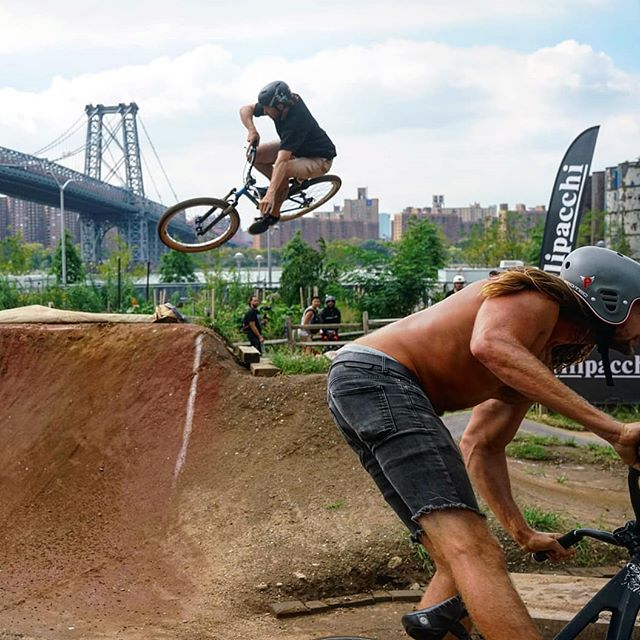 Brooklyn Pump Track  #Brooklyn #nyc #bikes #stunts #pumptrack #extreme #ebikes #sports