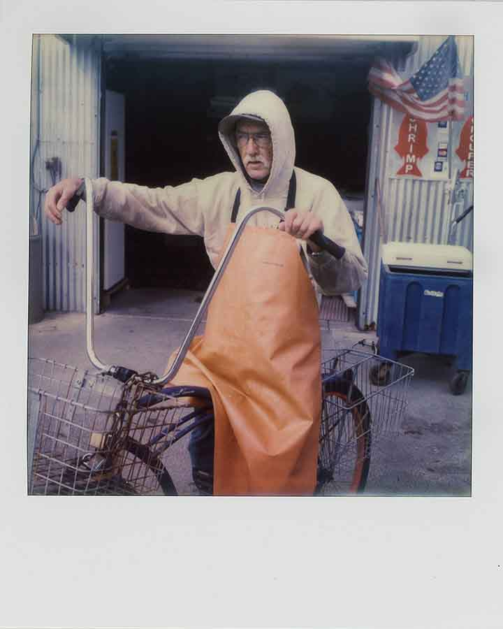 A fishmarket worker, Galveston, Texas, 2014