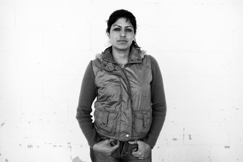 """Julia Fragozo, 28, in prison for drug trafficking. As a result of Mexico's drug war, the number of women in prison for federal crimes has quadrupled in the past three years. In Mexico's deadliest city, Ciudad Juarez, an estimated 80 percent of female inmates are incarcerated for narcotics related crimes. The expansion of the drug cartels into street gangs has directly led to more involvement by women in crime this year, from girlfriends to family members to gang members themselves. It is now a known tactic for criminals to recruit pretty women in order to train them as assassins or use them to lure kidnapping victims. In addition, as more and more women become widows from the all-encompassing violence in Juarez, they are also also lured into criminal activity (illegal drug transportation in particular) as one of the only financial options available to support their family. Ciudad Juarez is the """"front-line"""" of Mexico's Drug War, with 3,000 murdered in 2010 alone. The rise of women�s involvement in drug related crime is directly linked to poverty and lack of employment opportunities; systemic problems in Juarez that have only escalated after the financial collapse.  Photo by Katie Orlinsky. (Full image copyright Katie Orlinsky, Hold for Sunday Review)."""